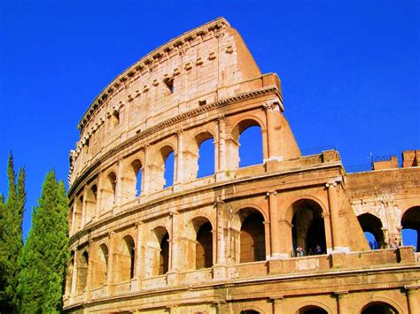 The Colosseum Roman Historical Spot To Visit World