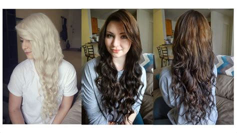 dying hair from brown to light brown how i dyed my hair from to brown some random