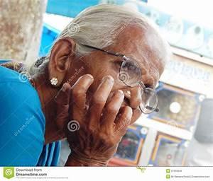 Portrait Of Senior Homeless Poor Indian Man Seek Help Or ...