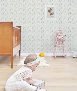 affiche chambre d39enfant faon et fleurs lilipinso With affiche chambre bébé avec tasse fleurie