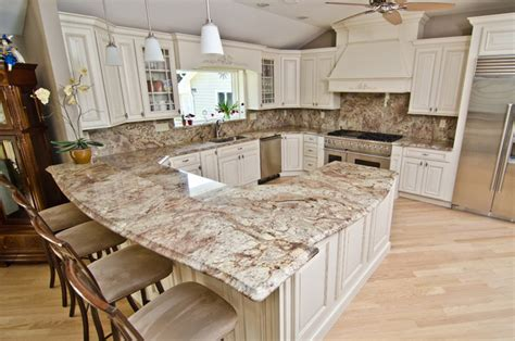 kichens crema bordeaux traditional kitchen countertops