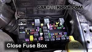 Interior Fuse Box Location  2011-2018 Ram 2500