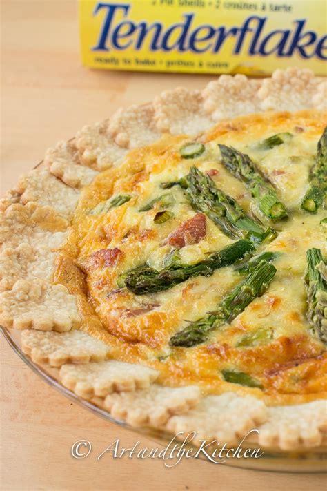 cheese quiche asparagus fresh spring gruyere artandthekitchen breakfast
