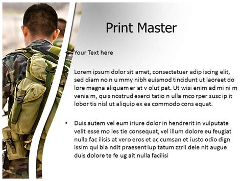military powerpoint powerpoint template the highest quality powerpoint templates and keynote templates