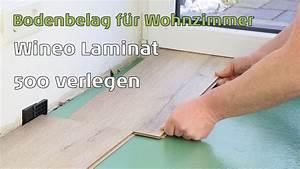 Laminat Fürs Bad : laminat 500 wineo small medium large xl verlegen youtube ~ Watch28wear.com Haus und Dekorationen