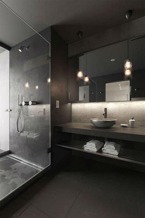 Badezimmer Modern Schwarz by 10 Black Bathroom Design Ideas That Will Inspire