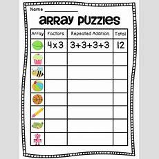 Arrays Arrays Arrays! By Miss Giraffe  Teachers Pay Teachers