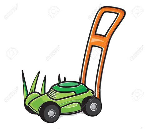 Lawn Mower Clip No Gasoline Lawn Mower Clipart Clipground