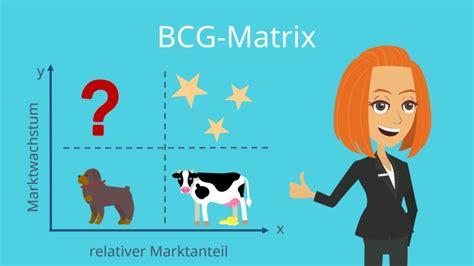 bcg portoflio bzw bcg matrix beispiel einfach erklaert