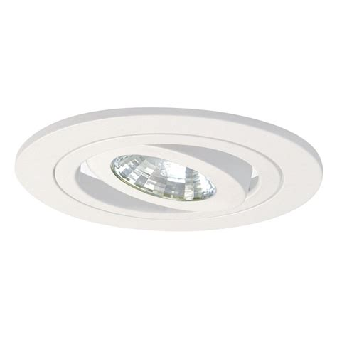 halo lighting 4 in satin white gimbal recessed lighting