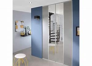 Porte De Placard Coulissante Lapeyre : portes pliantes equilibre rangements ~ Melissatoandfro.com Idées de Décoration