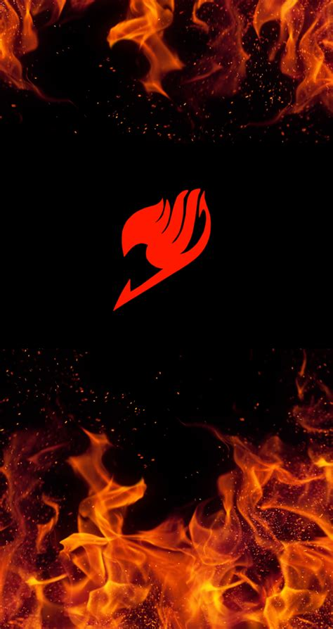 fairy tail iphone wallpaper fairy tail logo