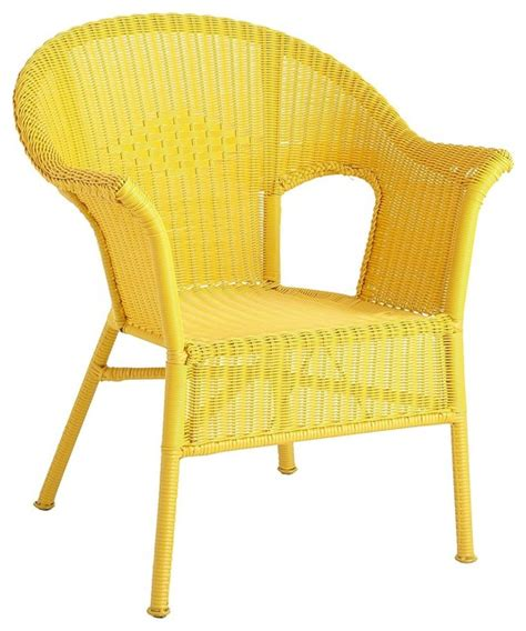 casbah chair yellow contemporary outdoor lounge