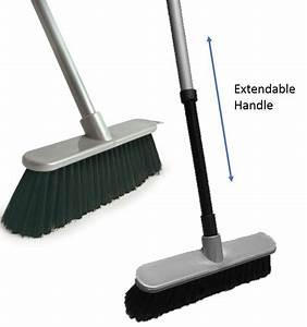 Extendable Soft Indoor Sweeping Broom Kitchen Caravan ...