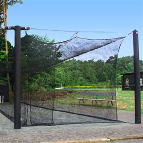 Deck Batting Cages Baton by Mastodon Batting Cage Systems