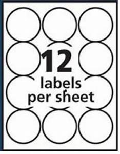 300 round 25quot labels same as avery 5294 white matte for With 5 inch round labels
