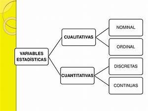 Tipos de escalas y variables estadísticas