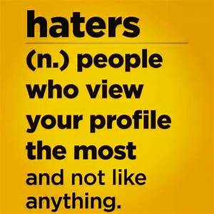 Haters quote .lol | I've got sum to say... | Pinterest ...
