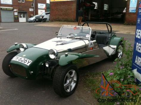 Robin Hood Lotus 7 Replica Kit Car 2.0 Pinto Built 2001