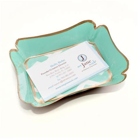 business card holder for desk woman stylish desk accessories popsugar home