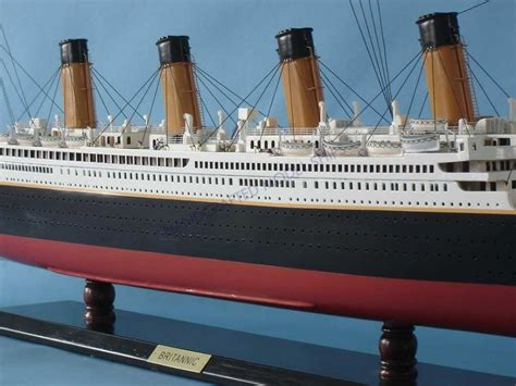 buy rms britannic limited model cruise ship 40 inch