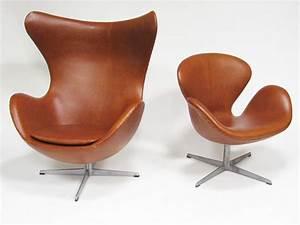 Fritz Hansen Egg Chair : arne jacobsen swan chair in cognac leather by fritz hansen pinterest swan chair egg chair ~ Orissabook.com Haus und Dekorationen