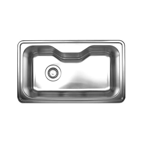 34 stainless steel kitchen sink whitehaus collection noah 39 s collection drop in stainless