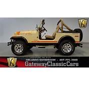 1979 Jeep CJ 7 Gateway Classic Cars Orlando 439  YouTube
