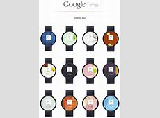 The Google Watch How It Would Look Like