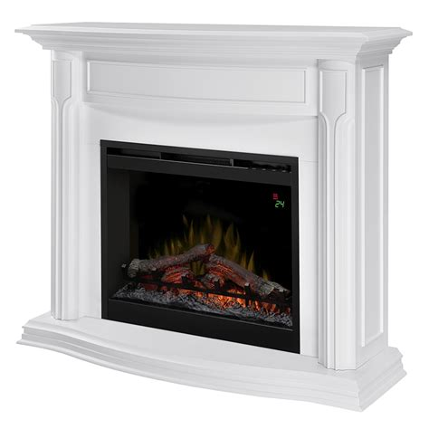 4775 Dimplex Gwendolyn White Mantel Electric Fireplace