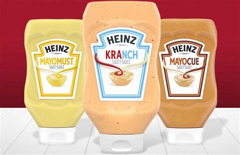 kranch aka ketchup mixed  ranch  heinzs latest