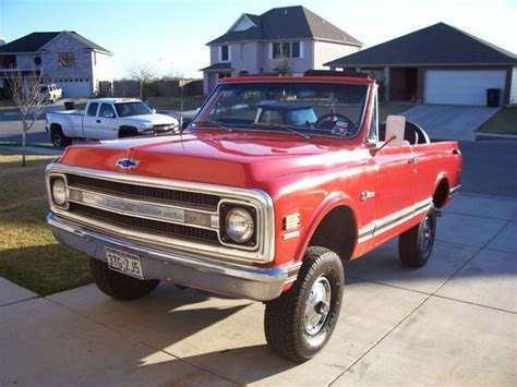 Sell Used 1969 Chevrolet K5 Blazer Cst In New Braunfels