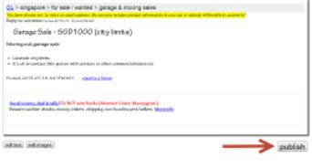 craigslist treasure coast garage sales how to search all of craigslist nationwide 7 steps