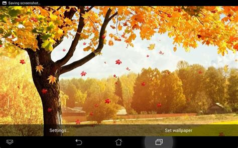 Falling Leaves Wallpaper Animated - animated fall driverlayer search engine