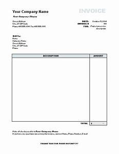 Invoice model word free printable invoice for Invoice template in word format free download