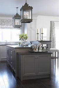 66 gray kitchen design ideas decoholic for Kitchen colors with white cabinets with steve mcqueen wall art