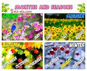 Months And Seasons