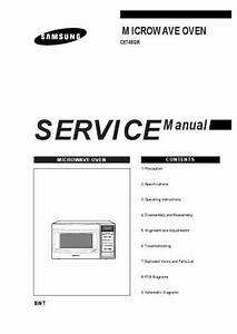 Samsung Ce 745gr Microwave Oven Download Manual For Free