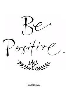 be positive printable printable decor