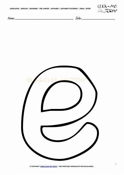 Coloring Alphabet Letter Template English Letters Vote