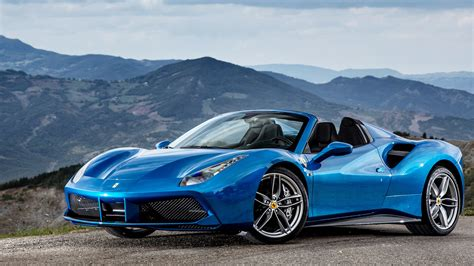 Ferrari Car : Ferrari 488 2017 Spider Exterior Car Photos