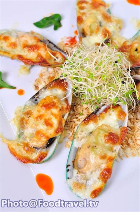 Cytotec New Zealand Baked Mussels With Cheese Sauce Wasabi Hoi Ma Lang Pu Aob