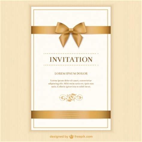invitation card vectors   psd files