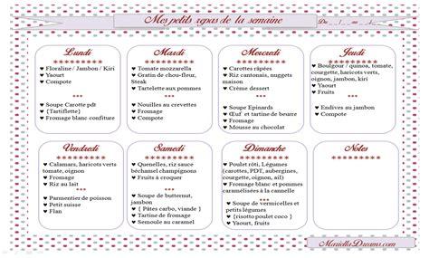 menu semaine cuisine az les petits repas pour mon bébé de 18 mois