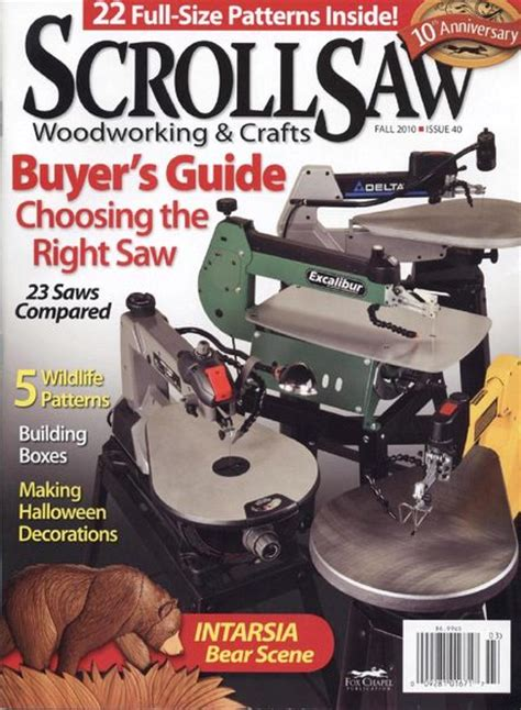 scroll  woodworking crafts issue  fall