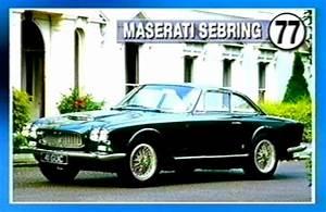 Maserati Antibes : 1963 maserati sebring series i in clarkson 39 s top 100 cars 2001 ~ Gottalentnigeria.com Avis de Voitures