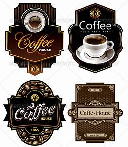 25 delicious coffee design resources entheos With coffee label design template
