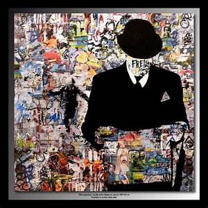 Toile Street Art : 29 best images about tableau art on pinterest artworks pop art and acrylic canvas ~ Teatrodelosmanantiales.com Idées de Décoration