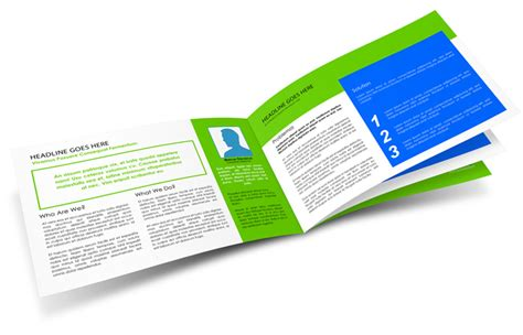 8 Page Brochure Template Free Brochure Template 8 S 1 3 8 Page 8 5x5 5 Horizontal Booklet Mockup Cover Actions