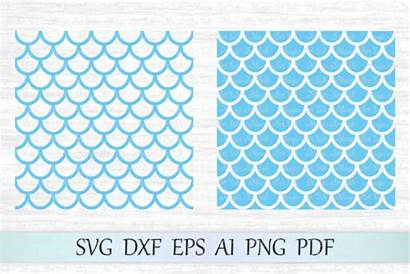Mermaid Svg Pattern Patterns Seamless Cricut Magicartlab
